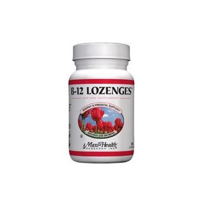 Maxihealth Research Kosher Vitamins Maxi Health Kosher Vitamins 0421875 B12 Lozenges - 180 Lozenges