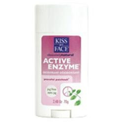 Kiss My Face Aluminum & Paraben Active Enzyme Deodorant 2.48 oz