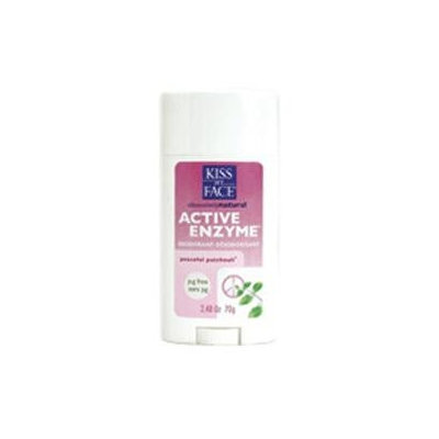 Kiss My Face Aluminum & Paraben Active Enzyme Deodorant 2.48 oz
