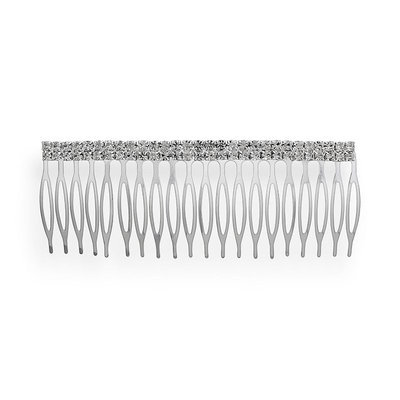 Crystal Allure Hair Comb (White)