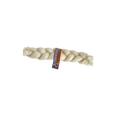 Shopzeus Loving Petsing Pets Rawhide BRAIDED TWIST 13-14in 10P