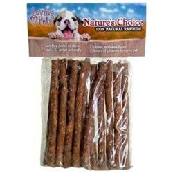 Loving Pets Rawhide BBQ Munchy Stix 12P