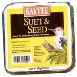 Kaytee Products Inc Kaytee Products KT15132 11.75 Oz Suet And Seed