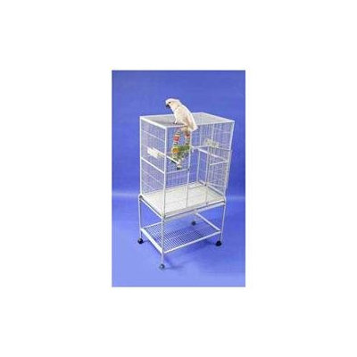 A & E Cage Co. Wrought Iron Flight Bird Cage 13221