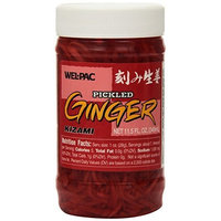 Wel-Pac Wel Pac Pickled Kizami Ginger, 11.5-Ounce (Pack of 6)
