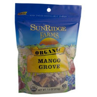 Sunridge Farms Organic Mango Grove, 7.5-Ounce Bags (Pack of 12)