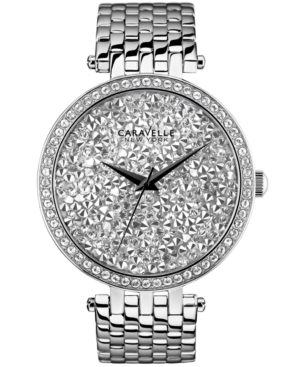 Caravelle by Bulova 43L160 Women's Stainless Steel Crystal Dial