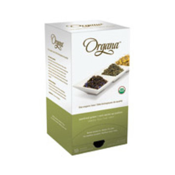 Organa Panfired Green Tea Pods, 18/bx