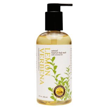 Vineyard Hill Naturals Natural Hand & Body Wash, Lemon Verbena, 9 oz