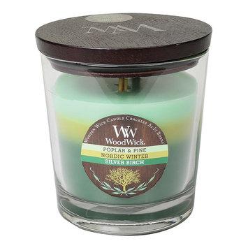 WoodWick Poplar & Pine Tri-Tone 17.2-oz. Jar Candle (Green)