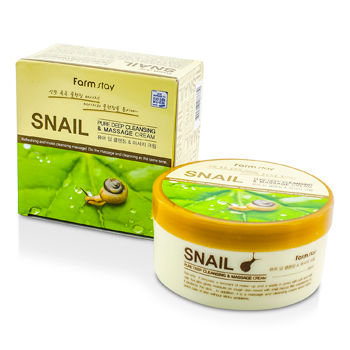 Farm Stay - Snail Pure Deep Cleansing and Massage Cream 300g