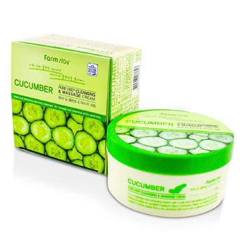 Farm Stay - Cucumber Pure Deep Cleansing and Massage Cream 300g
