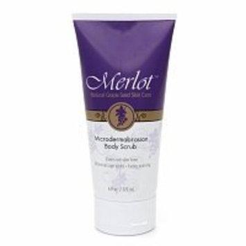 Merlot Microdermabrasion Body Scrub 6 fl oz (177 ml)