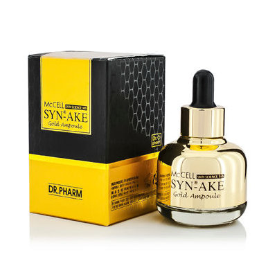 Dr.+pharm - McCELL Skin Science 365 Syn-Ake Gold Essence 30ml/1.05oz