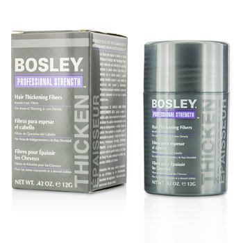 Bosley Hair Thickening Fibers Light Brown