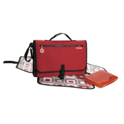 Skip Hop Pronto Baby Changing Station & Diaper Clutch Red by