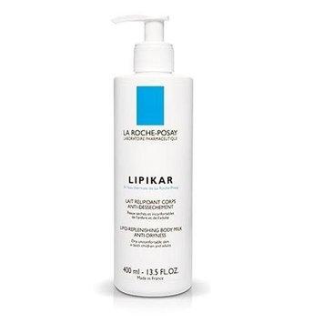 La Roche-Posay Lipikar Lipid-Replenishing Body Milk, 13.5-Ounce Bottle