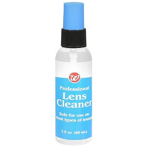 Walgreens Professional Lens Cleaner Spray
