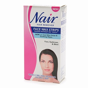 Nair Face Wax Strips Kit