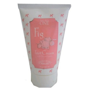 Nature's One Perlier NATURES ONE FIG Foot Cream with Aloe and Lanolim 4 oz.