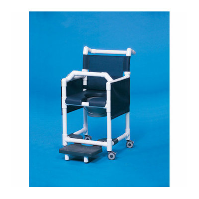 Innovative Products Unlimited Deluxe Shower Commode with Lap Bar