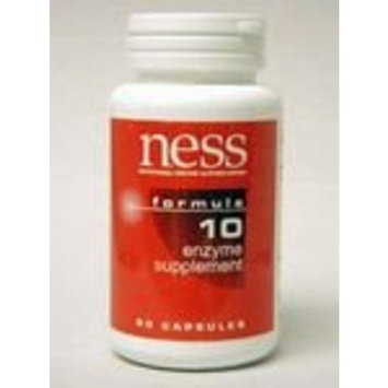 Ness Enzyme's Ness Enzymes - Carb Balance #10 90 caps Health and Beauty