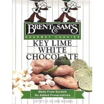 Brent Sam's Cookies Key Lime White Chocolate Cookies