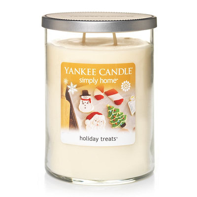 Yankee Candle simply home 19-oz. Holiday Treats Jar Candle