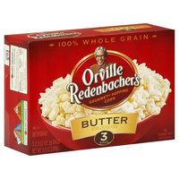 Orville Redenbacher's Popping Corn, Gourmet, Butter, 3 - 3.3 oz (93.3 g) bags [9.9 oz (280 g)]