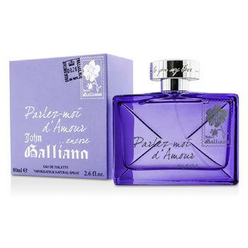 John Galliano Parlez moi d'Amour Encore, 80 ml Eau de Toilette Spray für Damen