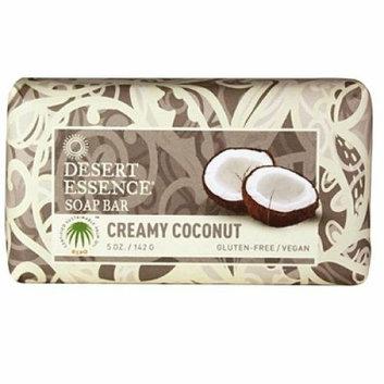 Desert Essence Bar Soap Creamy Coconut 5 oz