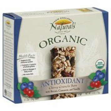 New England Naturals Organic Antioxidant Bar 1.2 oz., 5 Pack (Case of 6)