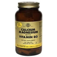 Solgar Calcium Magnesium with Vitamin D3 - 300 Tablets