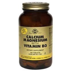 Solgar Calcium Magnesium with Vitamin D3 - 300 Tablets