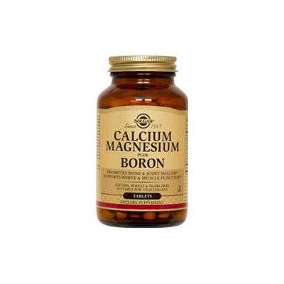 Solgar Calcium Magnesium plus Boron - 250 Tablets