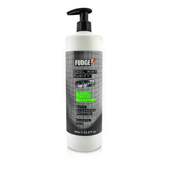 Fudge Cool Mint Purify Shampoo (1000ml) - (Worth £33.00)