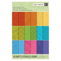 K&Company Dark Hue Paper Pads Small