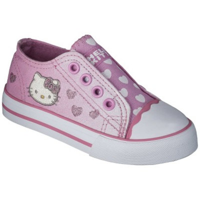 Toddler Girl's Hello Kitty Canvas Sneaker - Pink 6
