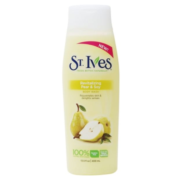 St. Ives Revitalizing Pear & Soy Body Wash