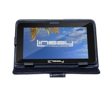 Current's Tackle Linsay Cosmos F-7HD4Core 7in. Tablet Bundle, 8GB