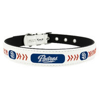 GameWear San Diego Padres Classic Leather Small Baseball Collar