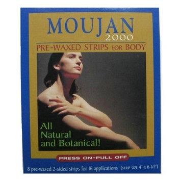 Moujan 2000 Pre-Waxed Strips for Body