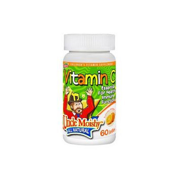 Uncle Moishy Kosher Vitamin C Jellies Yummy Orange Flavor - 60 Jellies