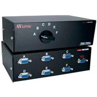 QVS HD15 VGA/SXGA Premium Manual Switch