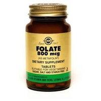 Solgar - Folate As Metafolin 800 mcg. - 50 Tablets