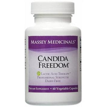 Massey Medicinals Candida Freedom 60 Capsules