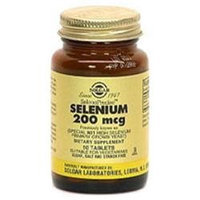 Solgar Selenium 200 MCG - 100 Tablets - All Other Antioxidants