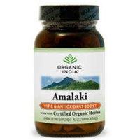 Organic India - Amalaki Vitamin C & Antioxidant Boost - 90 Vegetarian Capsules