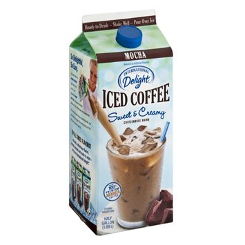 International Delight Sweet & Creamy Mocha Iced Coffee Drink