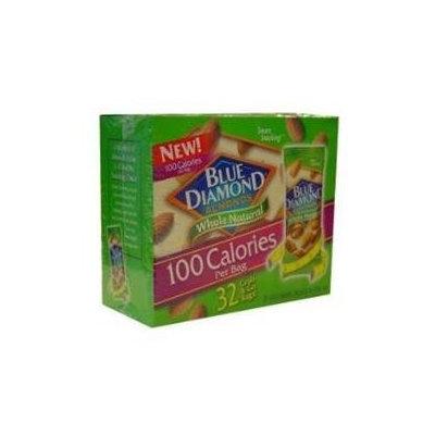 Blue Diamond Almonds 100 Calories Per Bag - 32 Grab and Go Bags